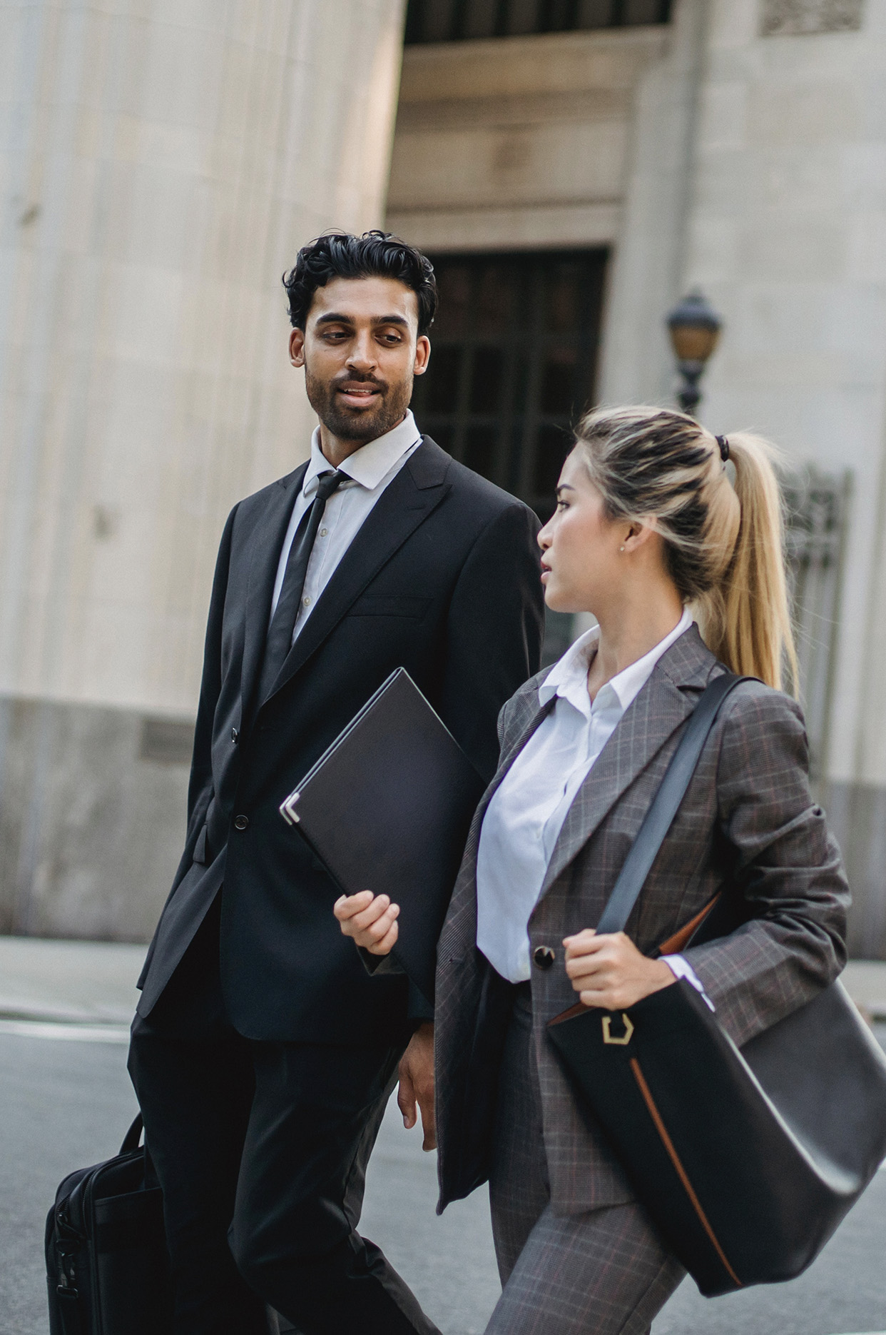 Insurance For Law Firms   Lawyer talking to client